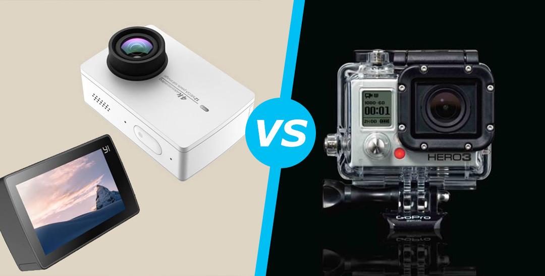 Yi 4K action camera vs GoPro Hero 4